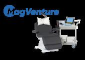 Stimulateurs magnétiques MagPro pour la thérapie en Neurologie, psychiatrie et rééducation  MagPro X100 MagOption avec bobine Cool Coil B65 à refroidissement actif. Pour toutes les indications de PEMs, TMS, ICI, ICF, TST, rTMS, TBS, PAS …