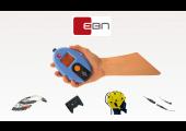 BE Micro: enregistreur EEG (électroencéphalographie) et PSG (polysomnographie) ambulatoire. Petit, léger, confortable. Pour les enregistrements à la maison ou au laboratoire.