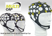 MultiCaps - Flexible EEG caps with 21 Ag/AgCl or tin electrodes for all systems