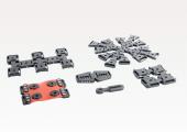 Halter, Fasern und anderes Zubehör von Artinis für die Nahinfrarotspektroskopie