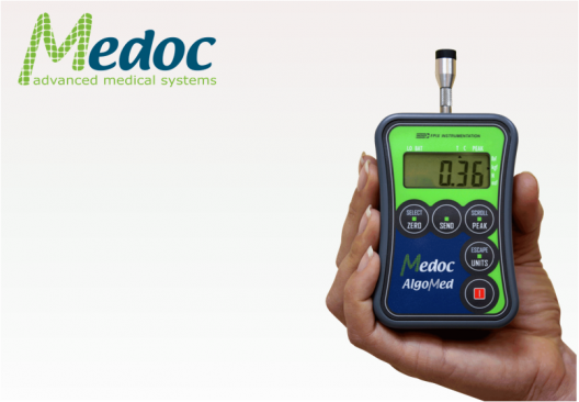Medoc AlgoMed algometer for pain evaluation in muscles, fibromylagia, allodynia