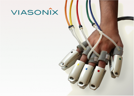 Viasonix Sensors for Falcon. PPG, Doppler probes, pressure cuffs...