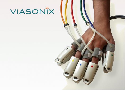 Viasonix Sensoren für den Falcon. PPG, Doppler Sonde, Manschette...