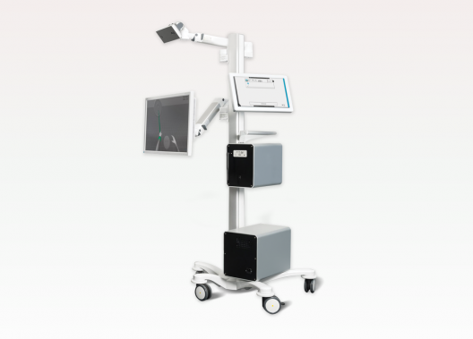 Mind Motion Pro, auf virtuelle Realität basierendes Rehabilitationssystem zur Wiederherstellung der motorischen Funktionen.