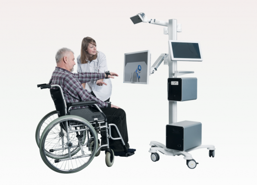 MindMotionPRO is an easy to use and mobile rehabilitation system, incorporating immersive virtual reality