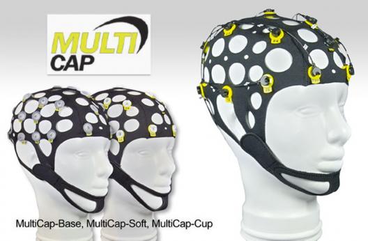 MultiCaps - Bonnets EEG flexible 21 électrodes Ag/AgCl ou étain tous appareils