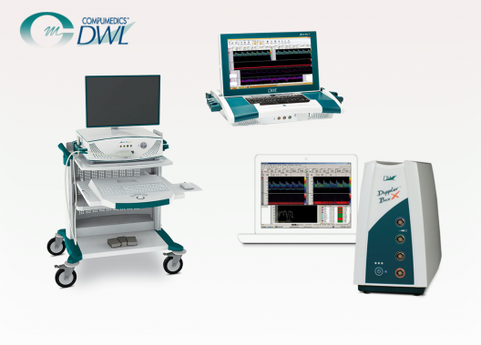 DWL TCD transkranielle Doppler Systeme für Embolie Detektion und Differentiation Schlaganfall Stenose Monitoring