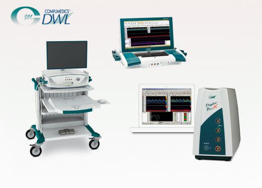 DWL TCD transkranielle Doppler Systeme für Embolie Detektion und Differentiation Schlaganfall Stenose Monitoring
