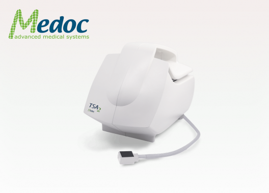 Medoc TSA 2 mesure des niveaux de sensibilité et douleur chaud froid vibration