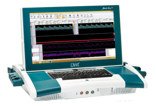 DWL Multi Dop T Digital TCD transkraniell Doppler tragbares System